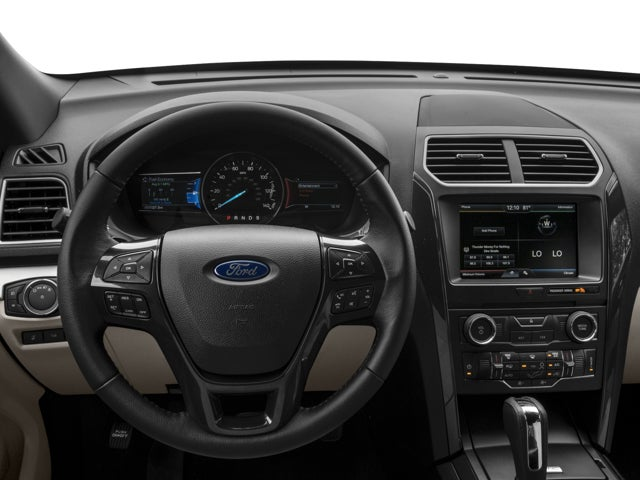 2017 ford explorer interior. 2017 ford explorer xlt in beaumont , tx - kinsel toyota interior e